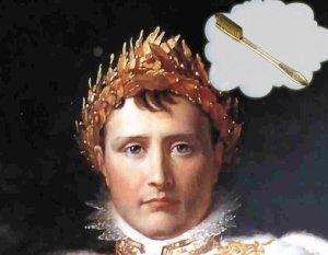 Выбор зубной щетки, самим Наполеоном Бонапартом 1