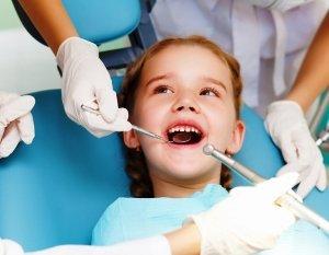 Зубной камень у детей