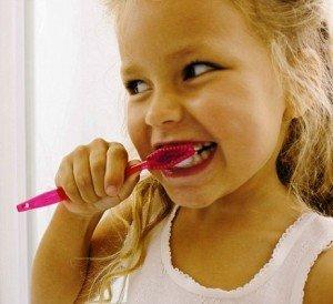 Зубная щетка для вашего ребенка
