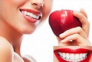 Природные средства для отбеливания зубов