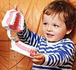 Стоматологическая клиника, настраиваем малыша на визит к врачу