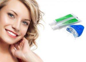 Система домашнего отбеливания поможет справиться с серыми пятнами на зубах