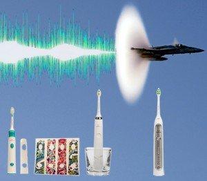 Звуковые зубные щетки – акустический эффект!
