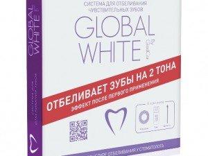 Домашнее отбеливание зубов по системе Global White