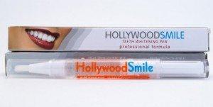 Отбеливание зубов при помощи набора Hollywood Smile