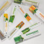 Натуральные зубные пасты Aashadent