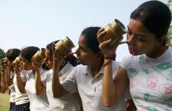 Система для промывания носа по-индийски