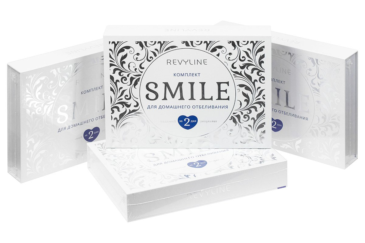 Комплект Smile для домашнего отбеливания