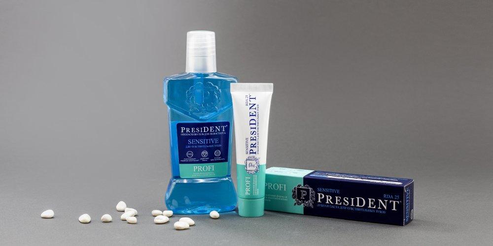 Зубная паста PresiDENT PROFI Sensitive