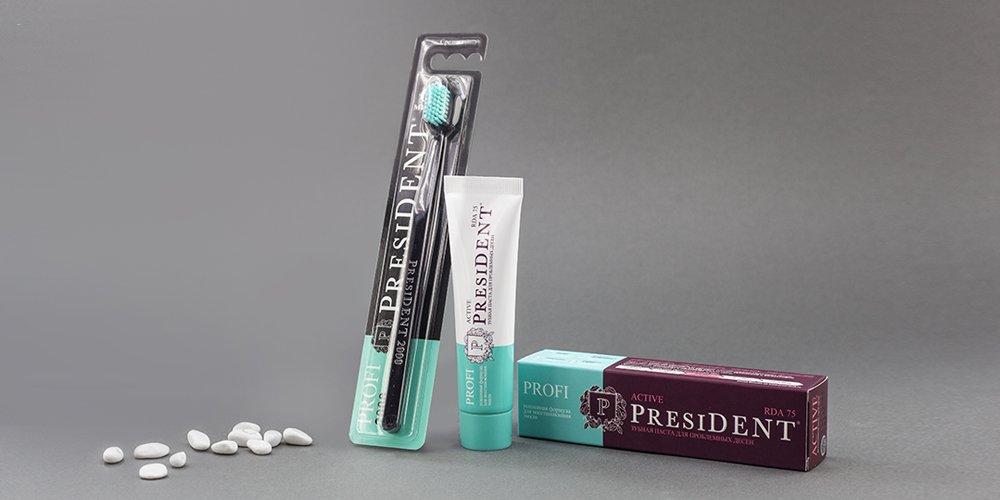 Зубная паста PresiDENT PROFI Active