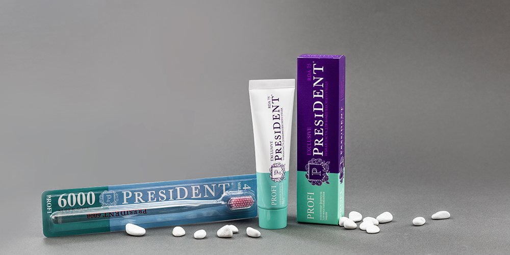 Зубная паста PresiDENT PROFI Exclusive