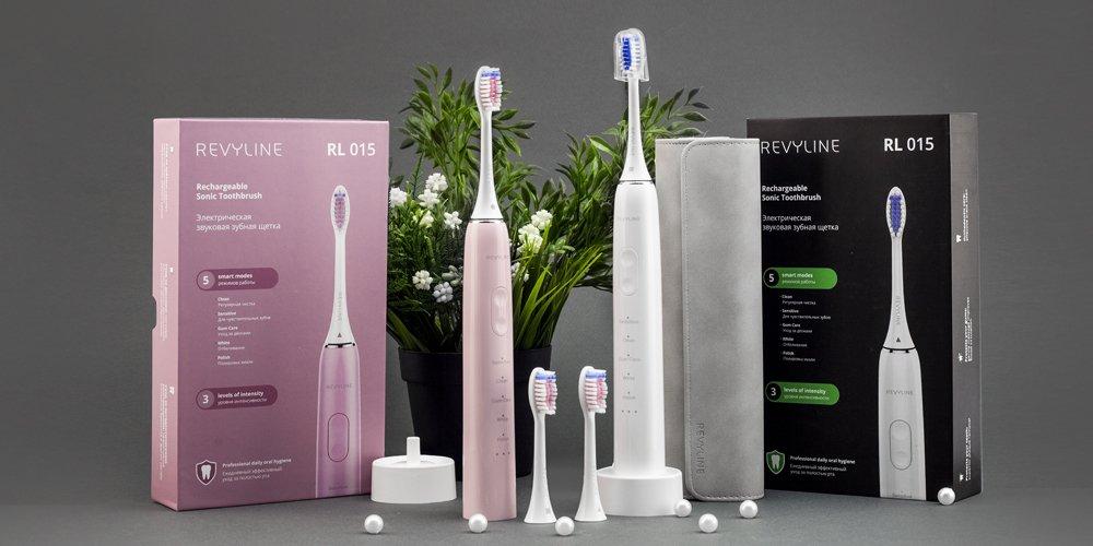 Обзор электрической зубной щетки Revyline RL 015